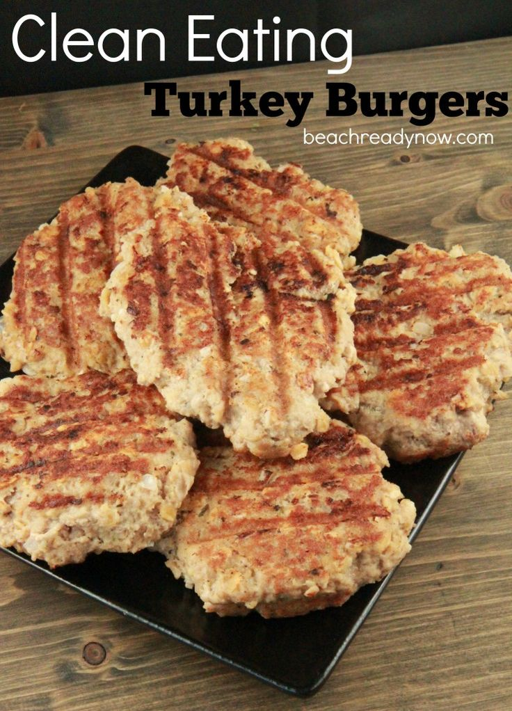 25+ best ideas about Healthy Turkey Burgers on Pinterest ...
