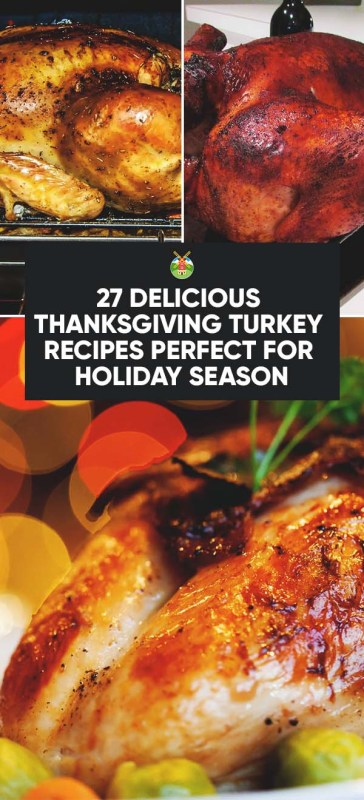 27 Delicious Thanksgiving Turkey Recipes Perfect for ...