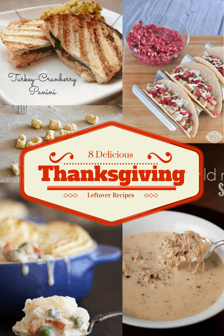 8 Delicious Thanksgiving Leftover Recipes | Cook. Craft. Love.
