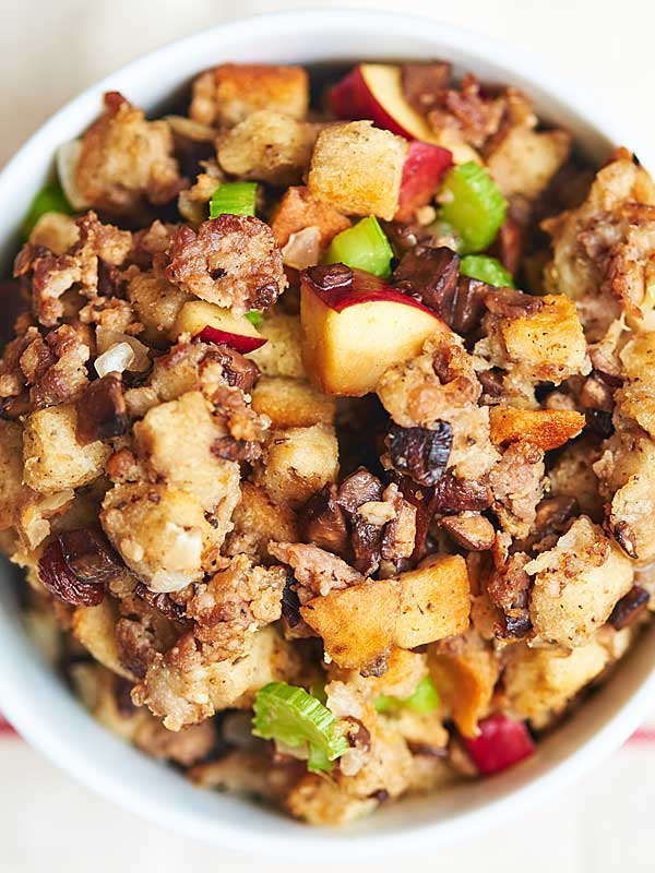 Best Ever Sausage Stuffing - A Classic Thanksgiving Side Dish