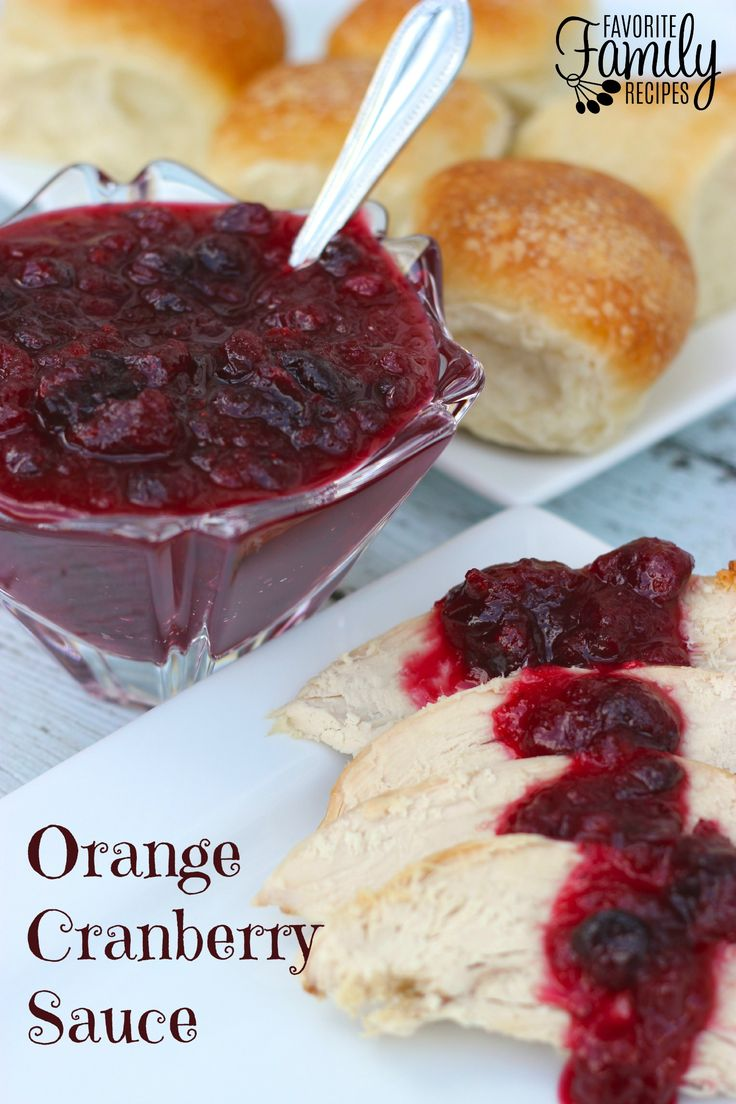 Check out Orange Cranberry Sauce. It's so easy to make ...