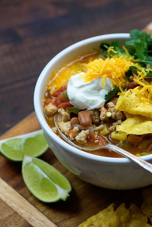 Chicken Taco Soup — Buns In My Oven