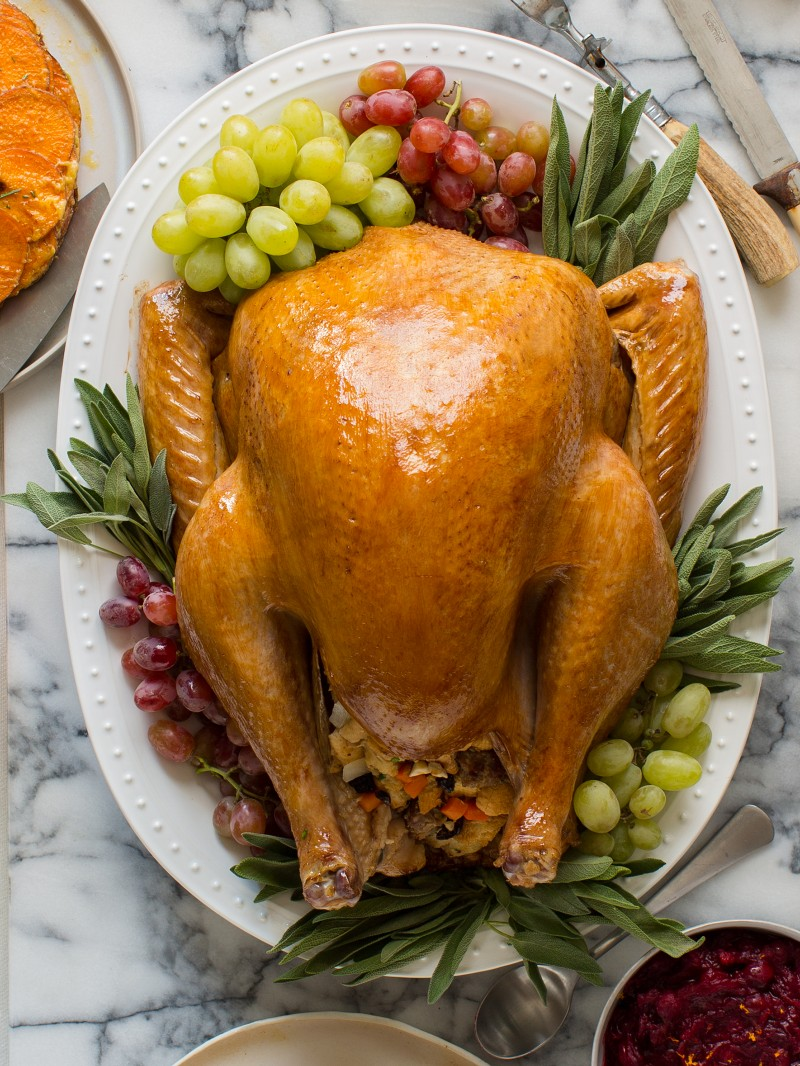 Citrus and Herb Roasted Turkey | Thanksgiving | Spoon Fork ...