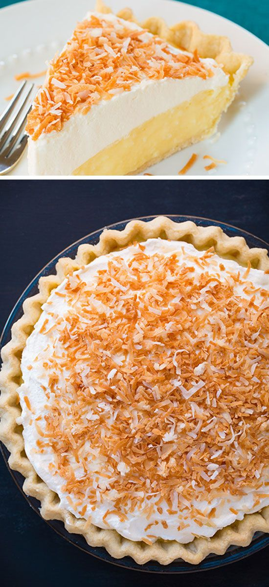 Coconut Cream Pie | Click Pic for 23 Quick and Easy ...