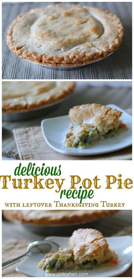Delicious Turkey Pot Pie Recipe | Turkey Pot Pies, Pot ...