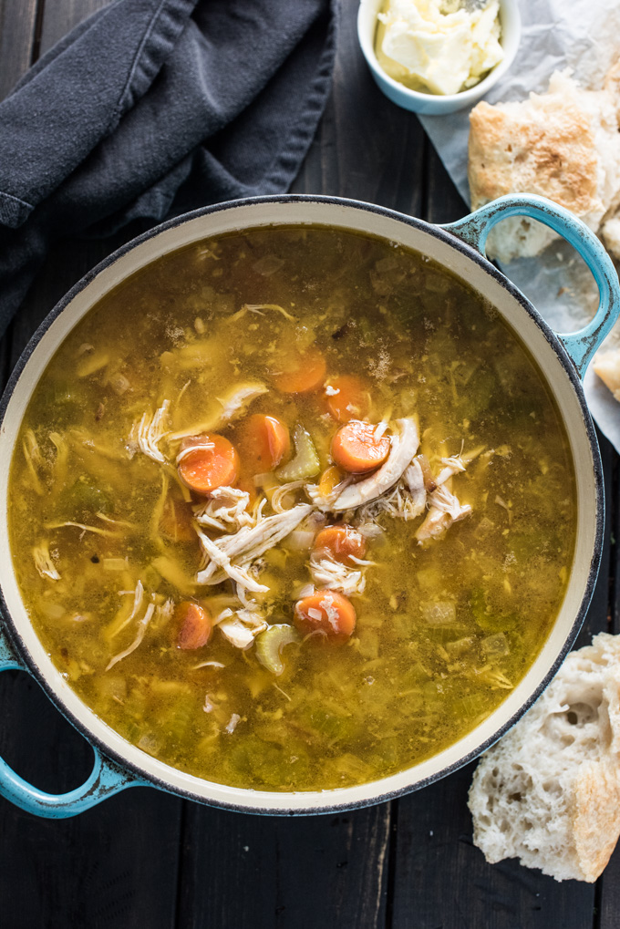 Easy Homemade Turkey Soup | The Endless Meal