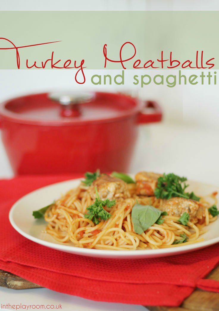 Easy Turkey Meatballs Recipe - In The Playroom