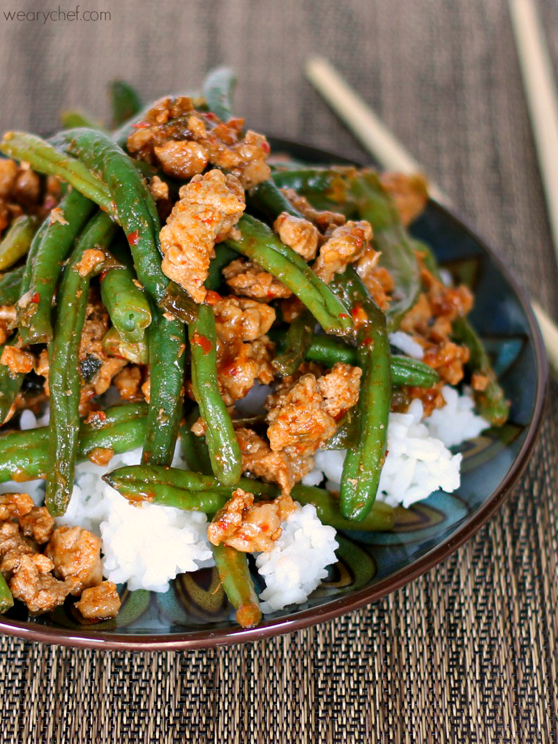 Favorite Chinese Green Beans with Ground Turkey - The ...