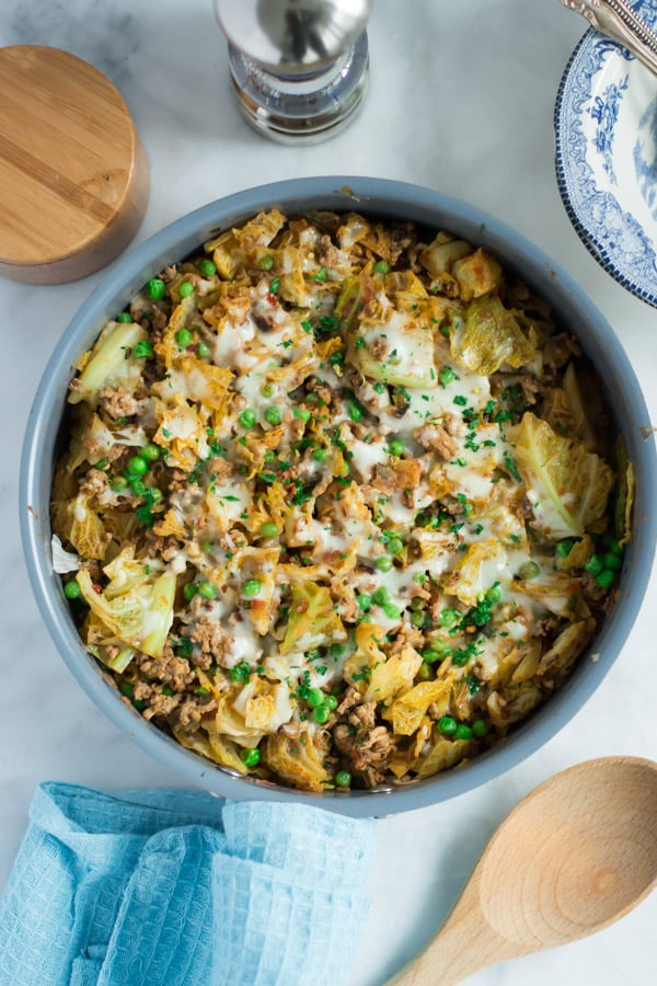 Ground Turkey Cabbage Skillet (+ Exciting News ...