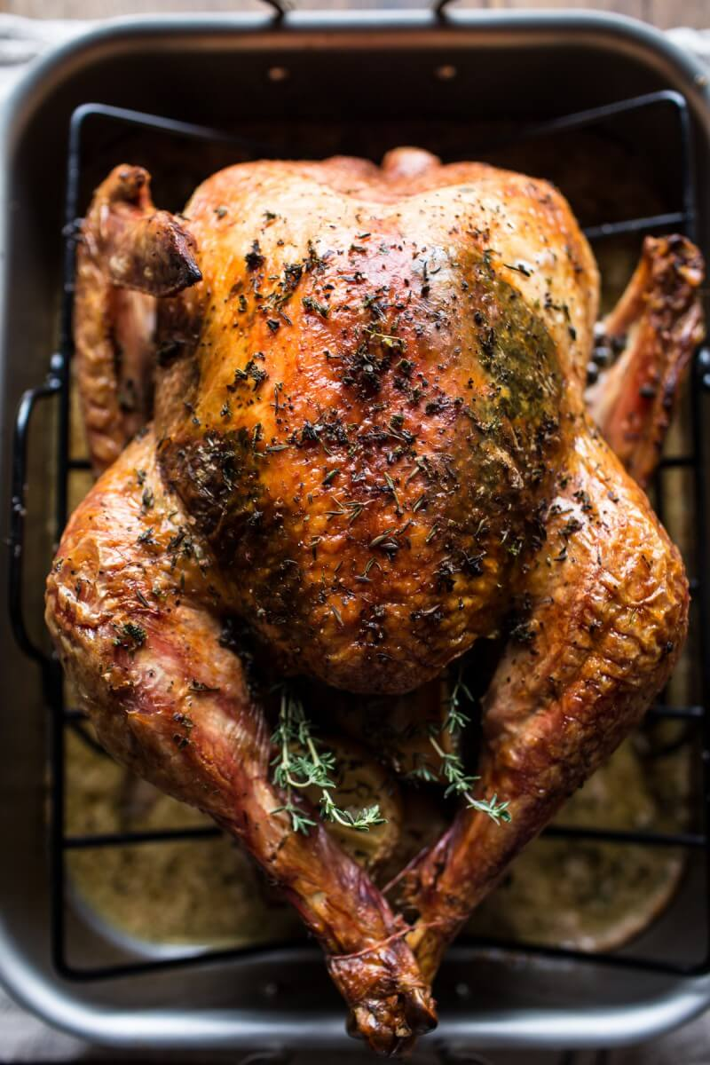 Herb and Butter Roasted Turkey | Half Baked Harvest