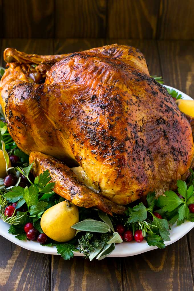 Herb Roasted Turkey - Dinner at the Zoo