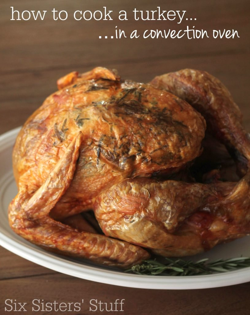 How To Cook A Turkey {in a convection oven} – Six Sisters ...