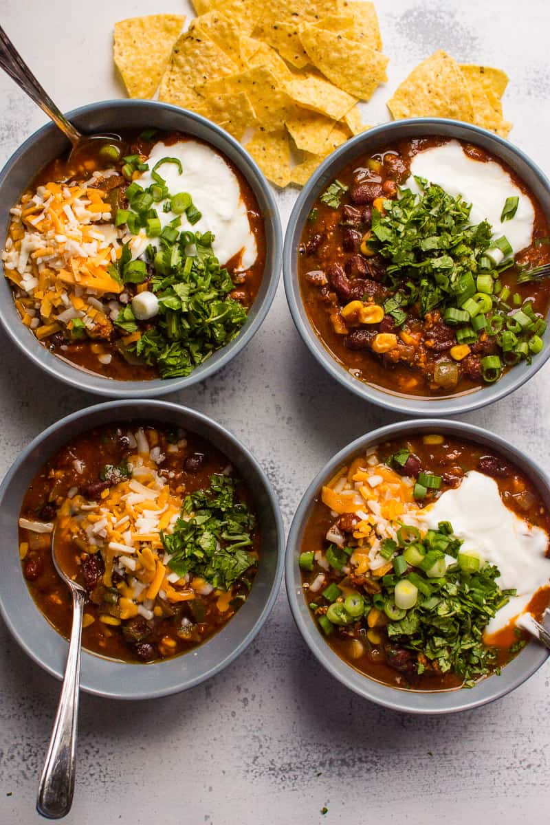 Instant Pot Chili - iFOODreal - Healthy Family Recipes