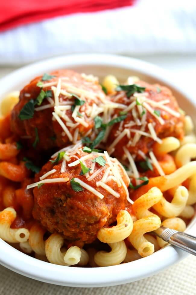 Instant Pot Meatballs - 365 Days of Slow Cooking and ...