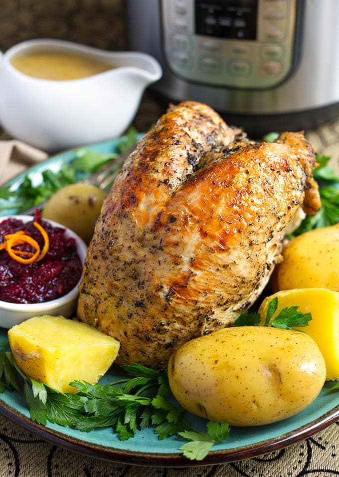 Instant Pot Turkey Breast Potato Dinner | Simply Happy Foodie