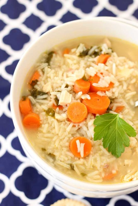 Leftover Turkey and Rice Soup - Recipes Worth Repeating