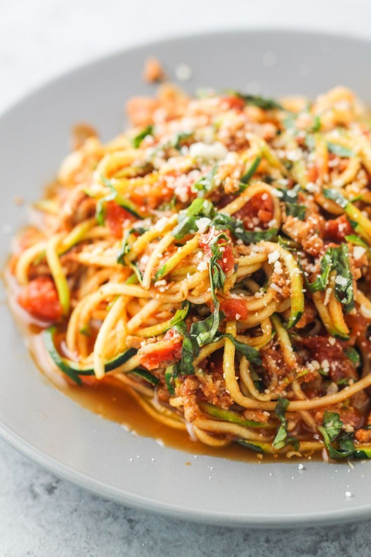 Low FODMAP Spaghetti and Zoodles | Recipe | IBS | Fodmap ...