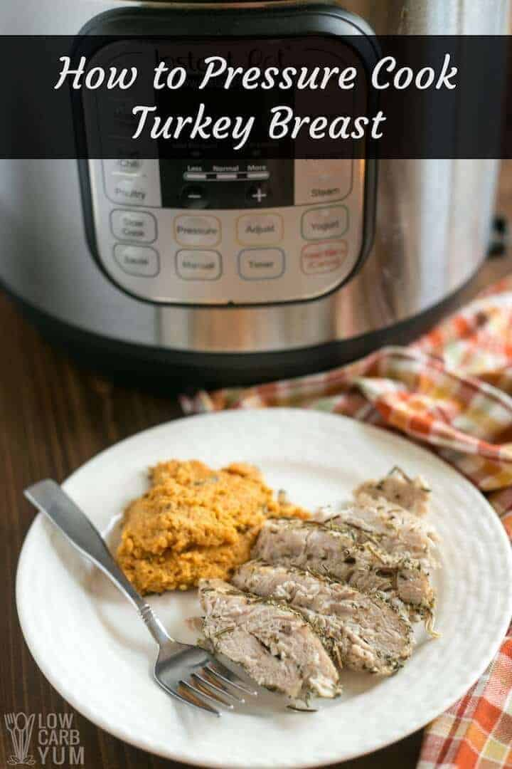 Pressure Cooker Turkey Breast in the Instant Pot | Low ...