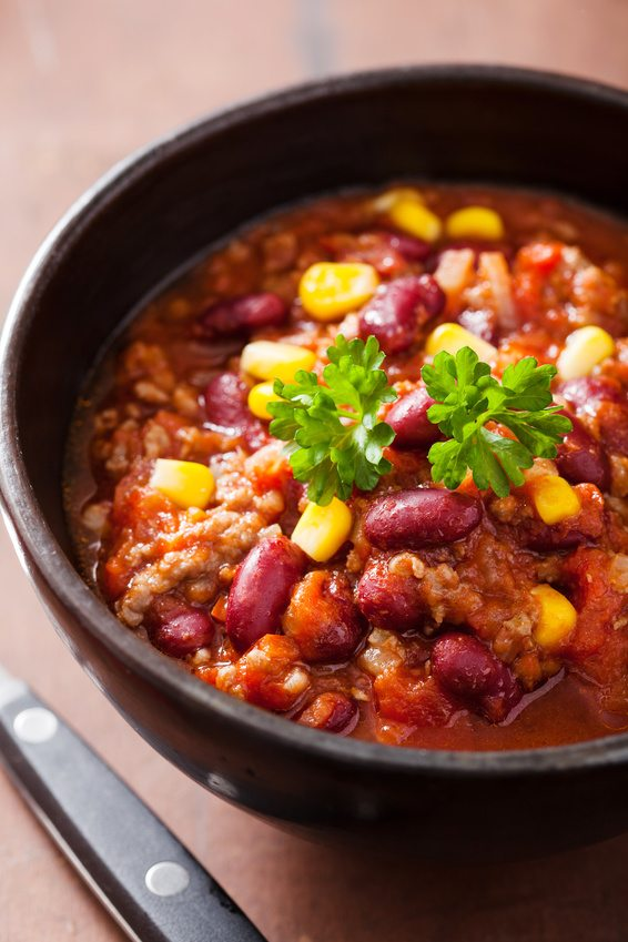 Southwest Slow Cooker Turkey Chili