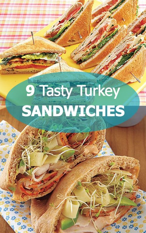 Tasty and Filling Turkey Sandwich Recipes   Thanksgiving ...