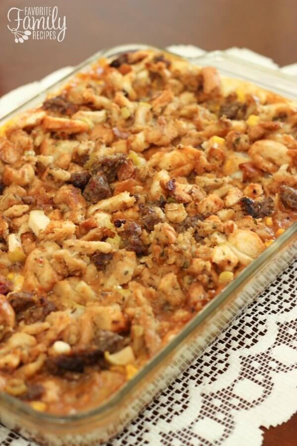Thanksgiving Leftover Casserole | Favorite Family Recipes