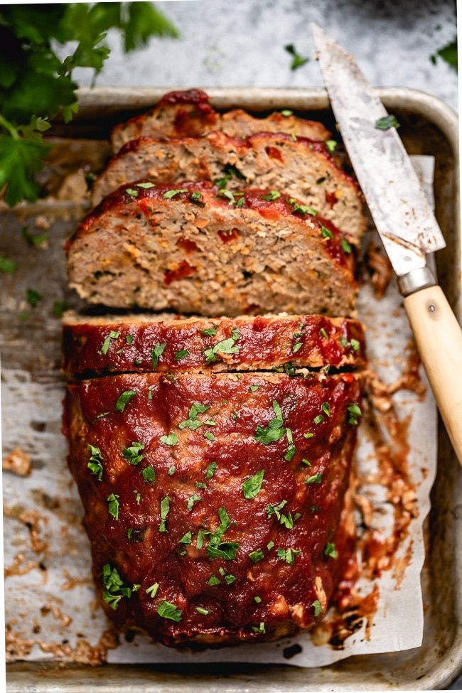 The Best Ground Turkey Meatloaf Recipe {QUICK VIDEO ...