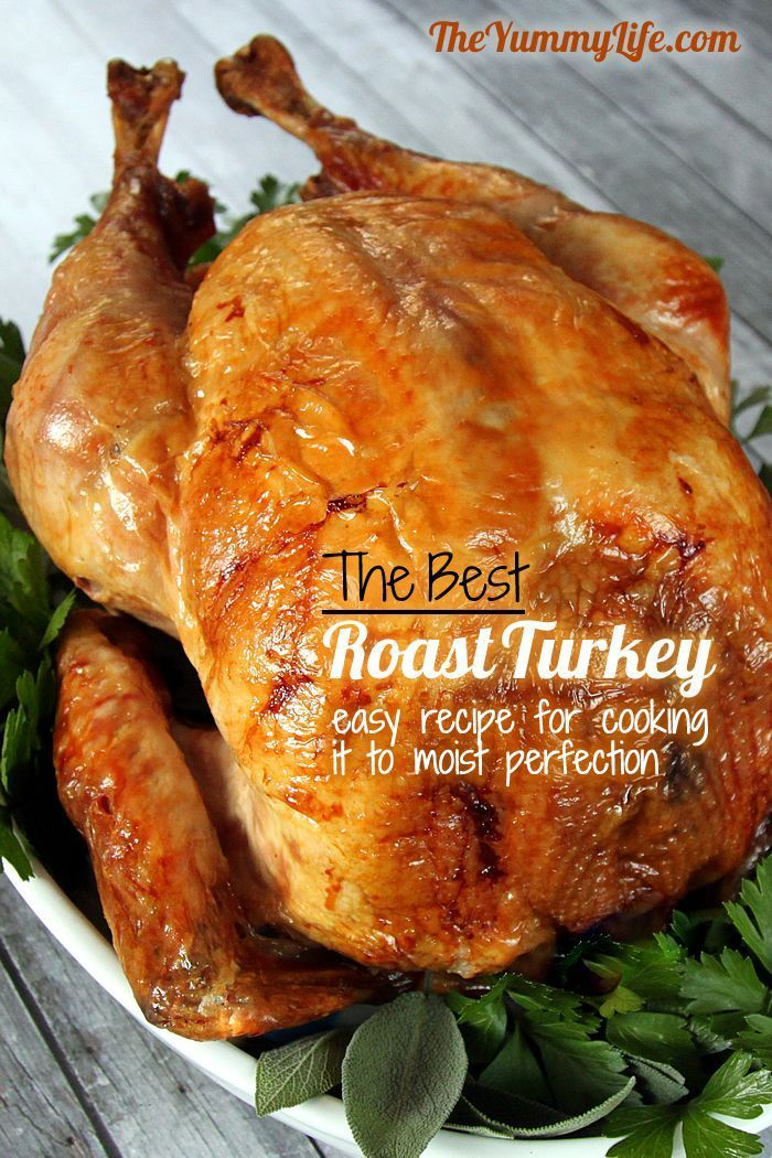 The Best Roast Turkey - perfectly cooked and moist ...