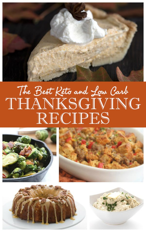 The Ultimate Low Carb Keto Thanksgiving Recipes | All Day ...