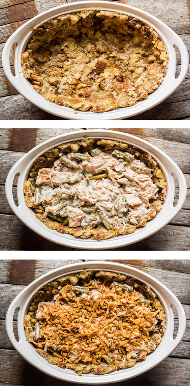 Turkey and Stuffing Casserole {Recipe using Thanksgiving ...