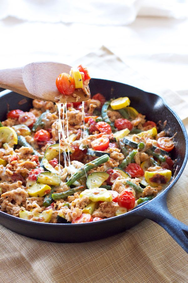Turkey and Vegetable Skillet |Recipe Runner | My go to ...