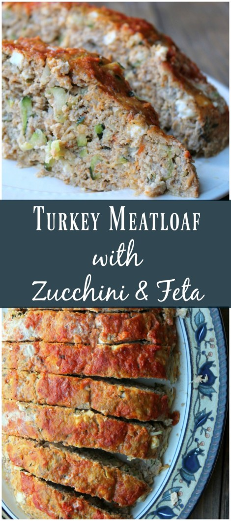 Turkey Meatloaf with Zucchini and Feta - Organize Yourself ...