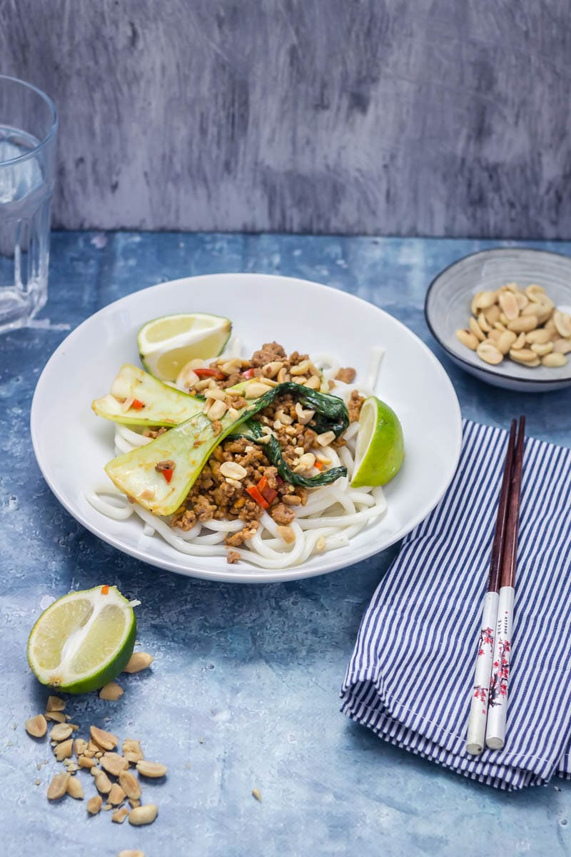 Udon Noodle Stir Fry with Turkey Mince • The Cook Report