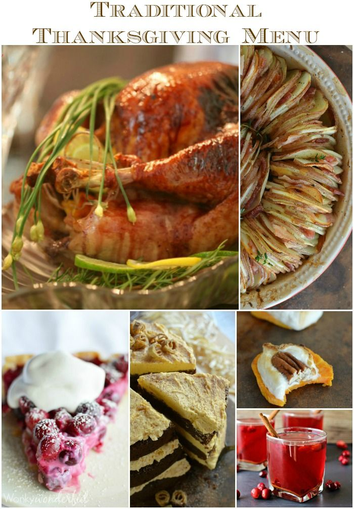 Unique Recipes for your Traditional Thanksgiving Menu ...