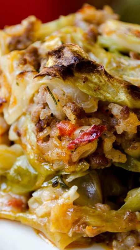 Unstuffed Cabbage Casserole | Recipe | Best Pinterest Pins ...