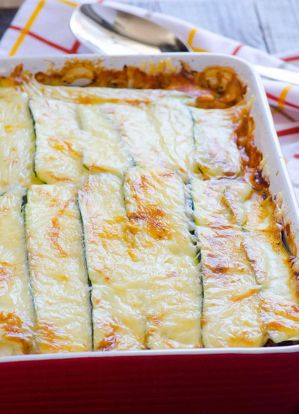 Zucchini Lasagna - iFOODreal - Healthy Family Recipes
