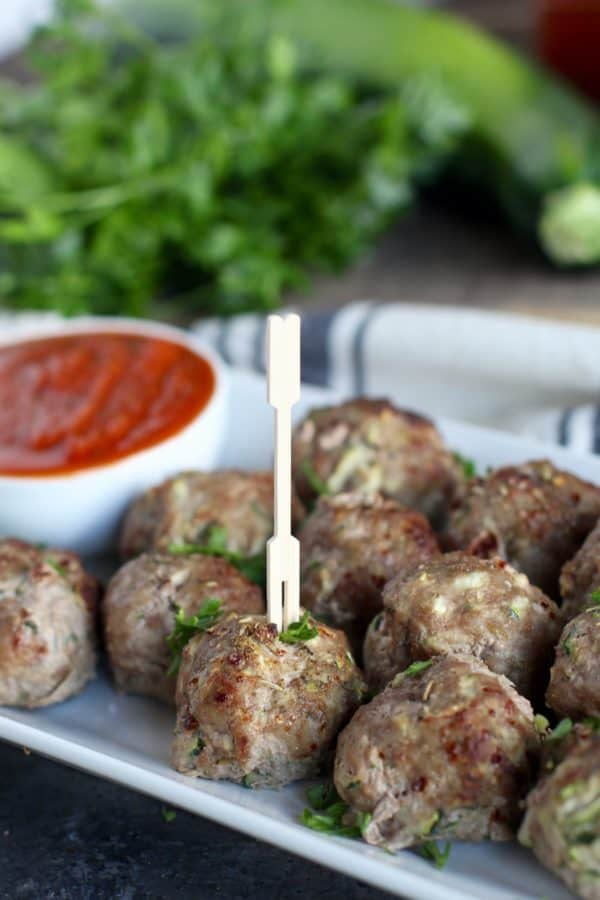 Zucchini Turkey Meatballs - The Real Food Dietitians