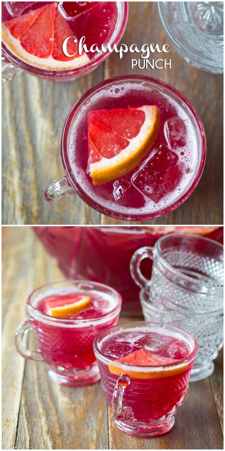 17 Best images about Alcoholic Drinks - Party Punch ...