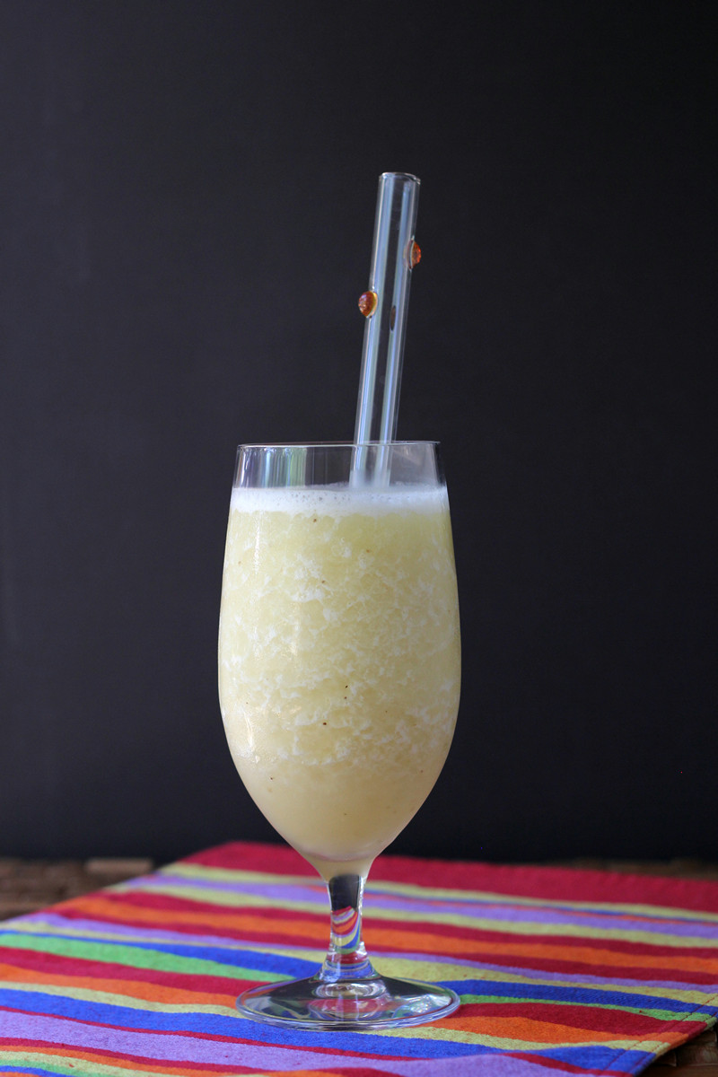 Cookistry: Frozen Banana Daiquiri (and a Mocktail!)