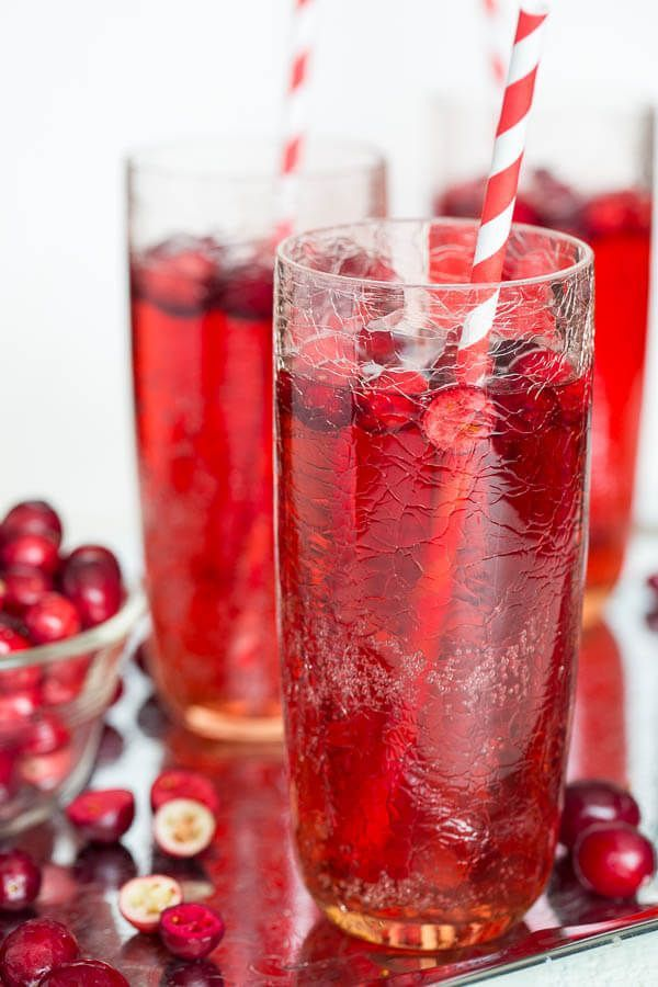 Cranberry Ginger Ale Punch + Video | Recipe | Bloggers ...