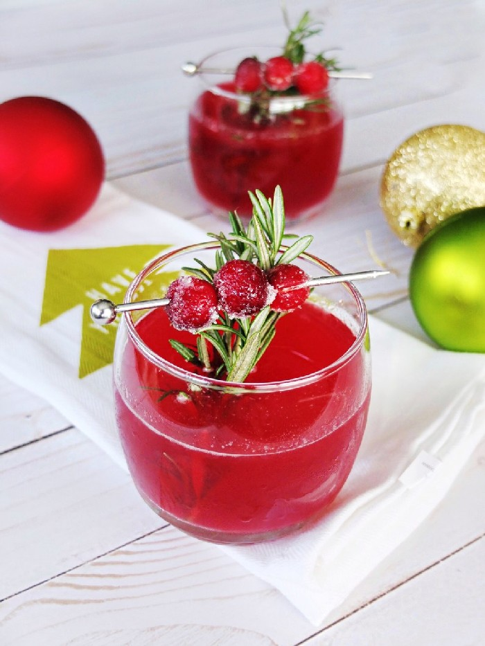 FESTIVE HOLIDAY COCKTAILS Round-Ups Mad in Crafts