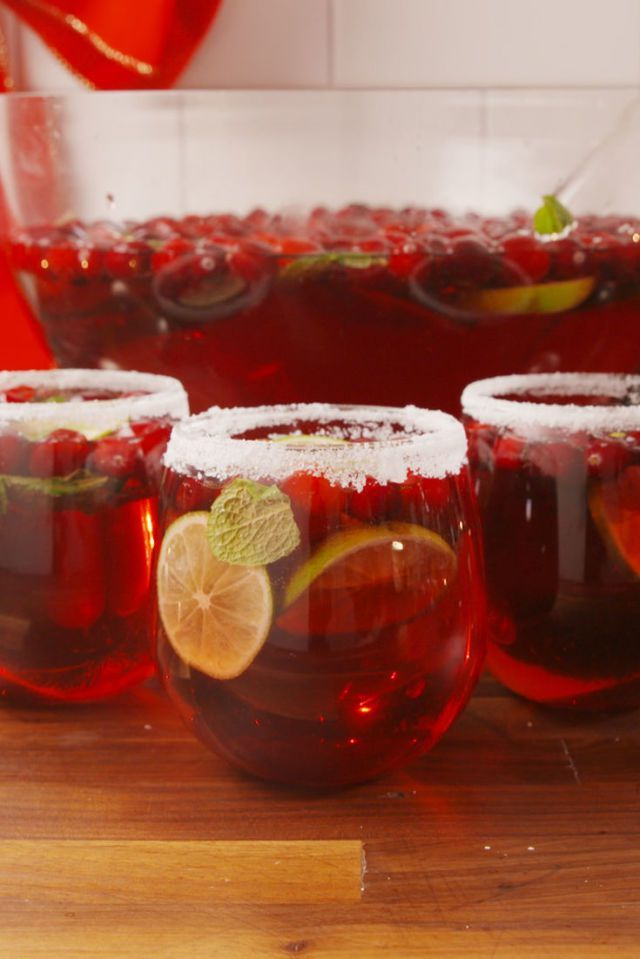 Holiday Party Punches You Can Make Ahead of Time ...