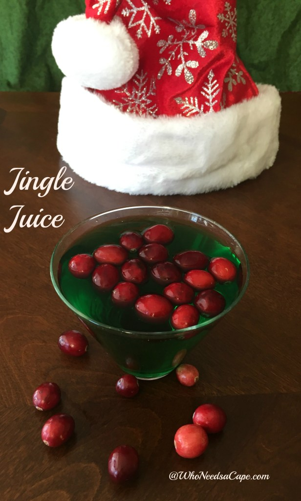 Jingle Juice - Who Needs A Cape?