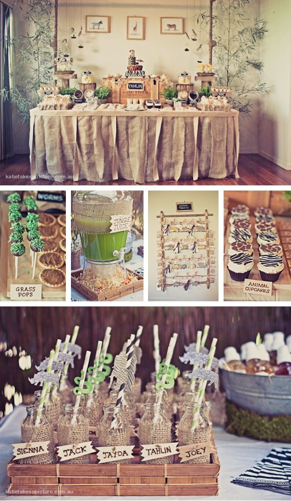 Safari Dessert Table | Dessert Table | Pinterest ...