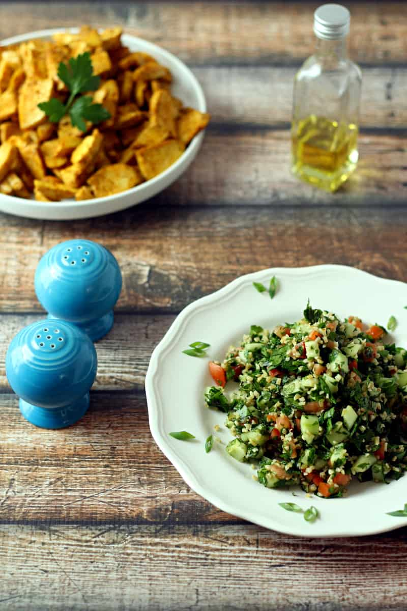 Tabbouleh Salad - The Wanderlust Kitchen