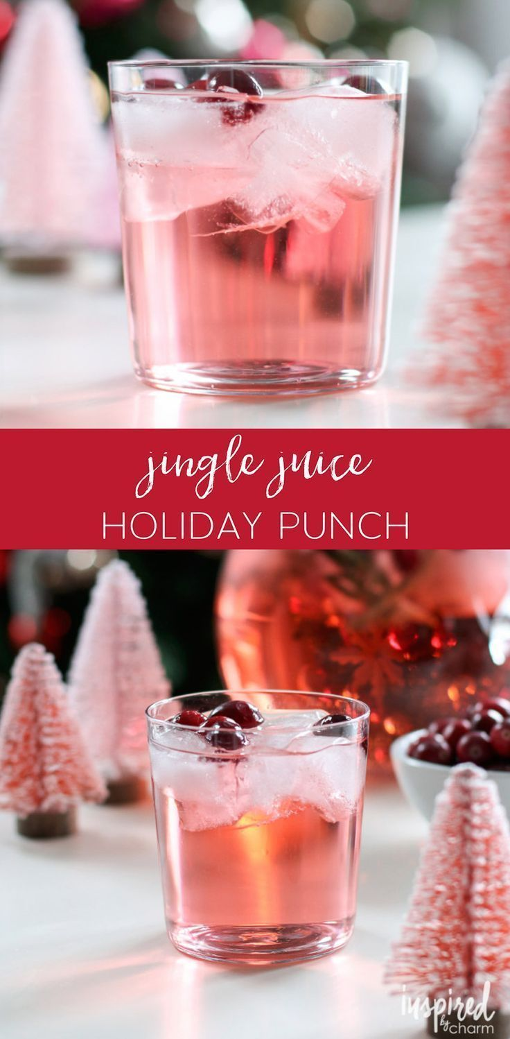 This Jingle Juice Holiday Punch is an easy-to-make holiday ...