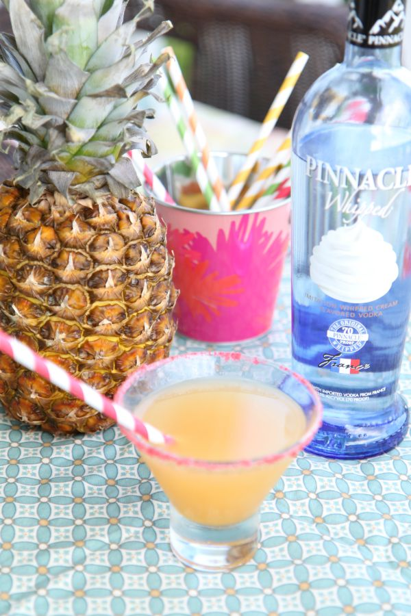 Whipped Pineapple Cocktail - BargainBriana